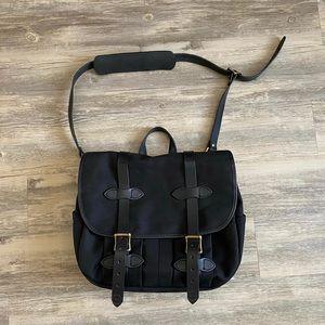 🆕Filson MedIum Rugged Twill Field Bag Black Rare